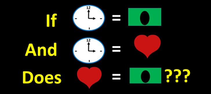 Time = Money???