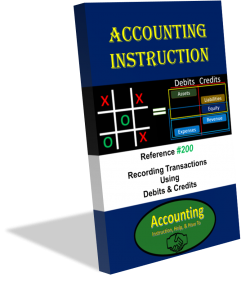Accounting Instruction Book 200